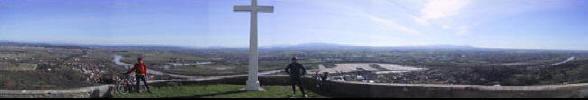croce alla chiesina del castellare di vicopisano